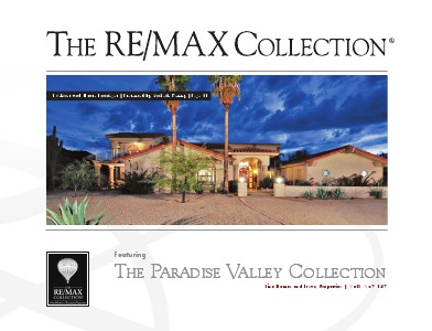 The RE/MAX Collection Magazine November 2013 Michelle Kenny