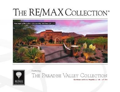 The RE/MAX Collection Magazine November 2013 Mike Domer