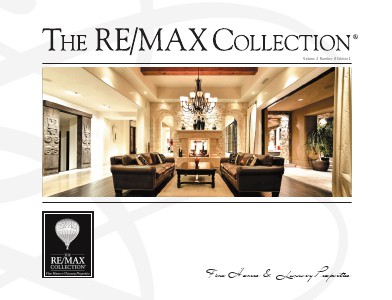 The RE/MAX Collection Magazine November 2013 The RE/MAX Collection