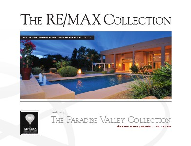The RE/MAX Collection Magazine November 2013 Tom Pelliteri and Beth Steil