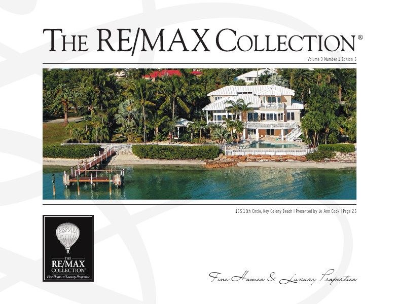 The RE/MAX Collection Magazine February 2014 Jo Ann Cook February 2014