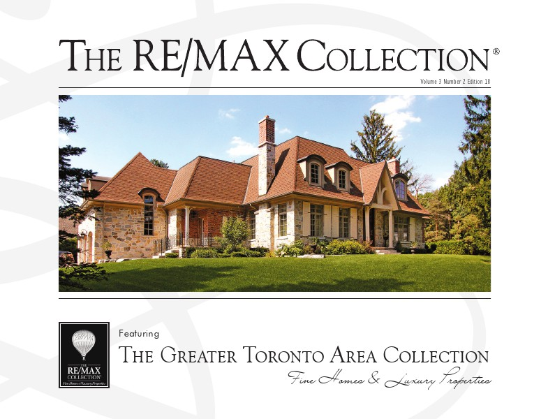 April 2014 The Greater Toronto Area Collection