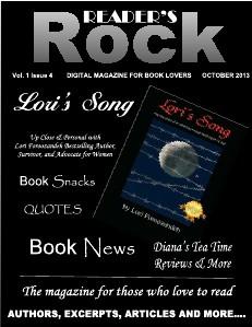 READER'S ROCK LIFESTYLE MAGAZINE VOL 2 ISSUE 4 NOVEMBER 2014 Vol. 1 Issue 4 October 2013