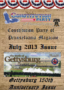 Constitution Party of Pennsylvania Magazine