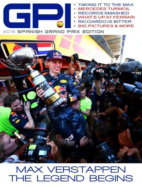 GPI 2016 Spanish Grand Prix Edition