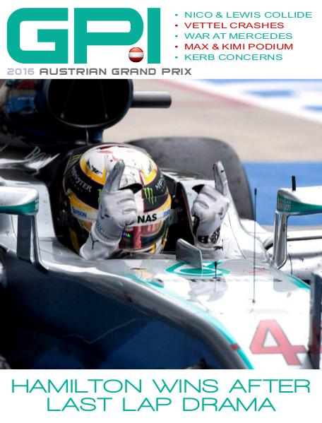 GPI 2016 Austrian Grand Prix Edition