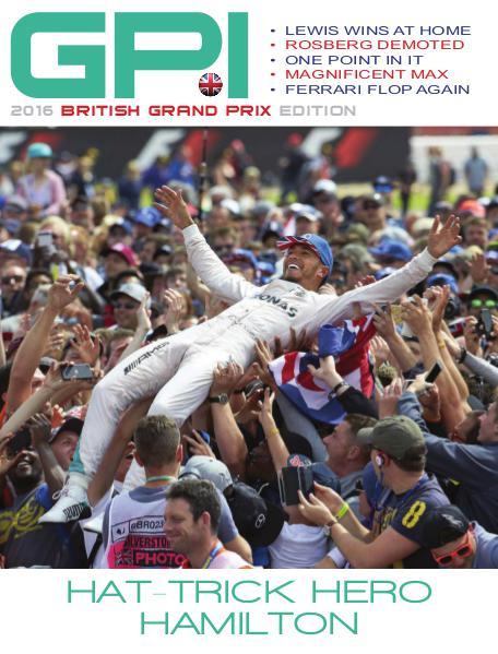 GPI 2016 British Grand Prix Edition