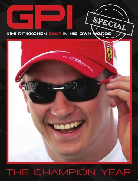 GPI Kimi Raikkonen The Champion Year