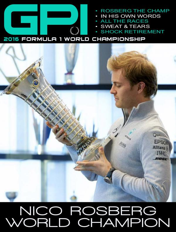Nico Rosberg 2016 World Champion