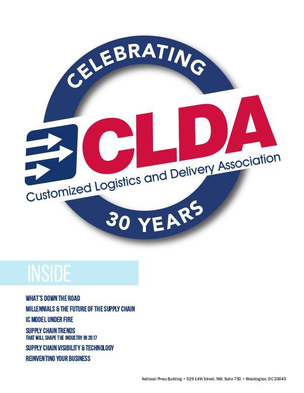 CLDA Magazine - Winter 2017 1
