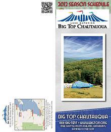 Season Program   Big Top Chautauqua