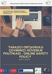 TARAŞCI ORTAOKULU ONLINE SAFETY POLICY