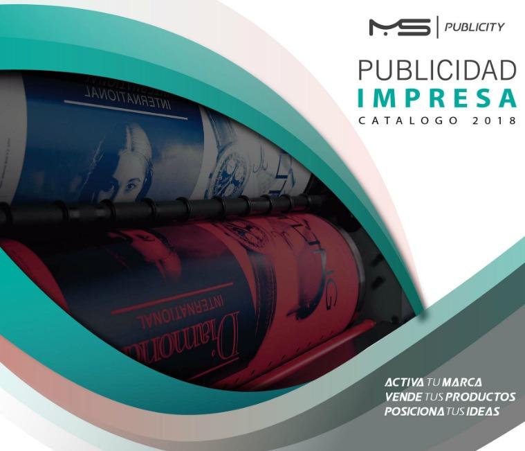 Catálogo de Publicidad Impresa Catálogo de Publicidad Impresa