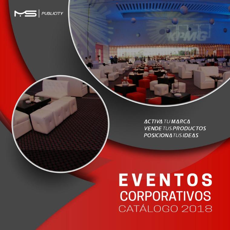 Catálogo de Eventos Corporativos Catálogo de Eventos