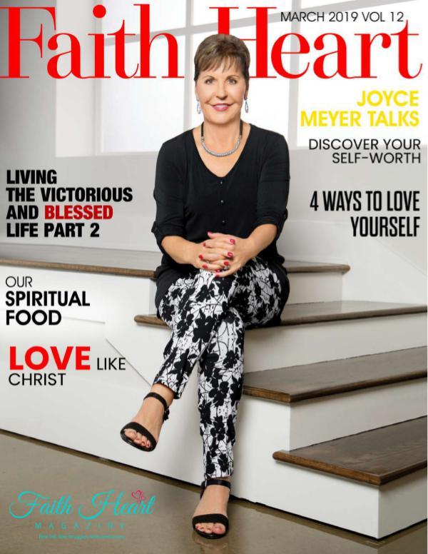 Faith Heart Magazine Joyce Meyer