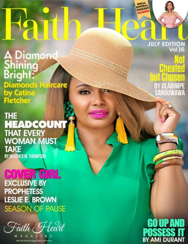 Faith Heart Magazine Prophetess Leslie Brown