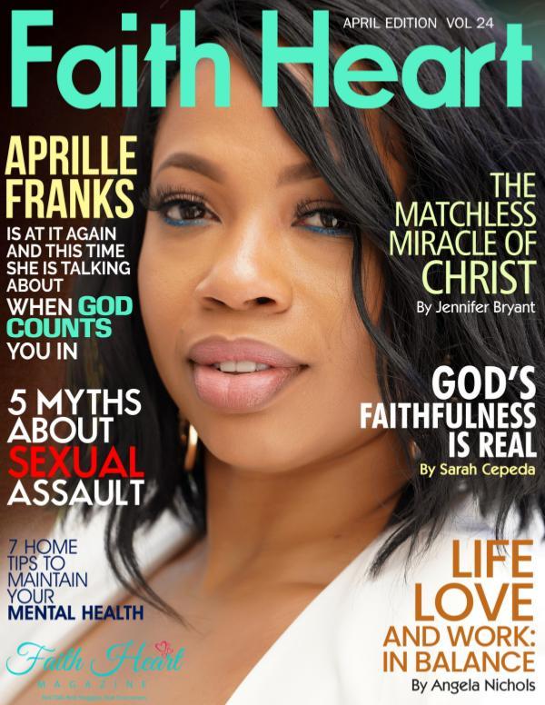 Faith Heart Magazine Aprille Franks
