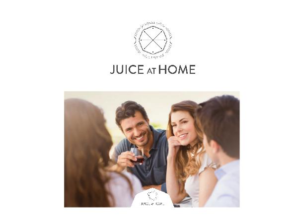 Juice at Home Catalogue 2017 Portuguese Finest Gourmet Food