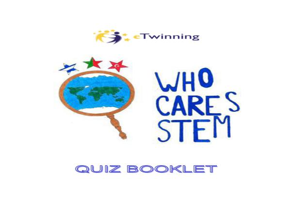 Who Cares STEM? Scientist Cards Quiz Booklet tek dosyaSON