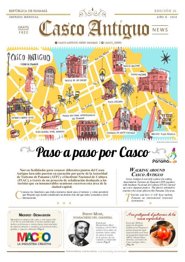 Periódico Casco Antiguo News EDICIÓN 21 · FEB - MAR · 2018