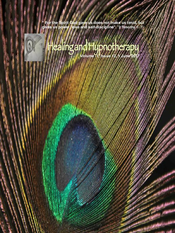 Healing and Hypnotherapy Volume 1  Issue 12, (1 june 2017)