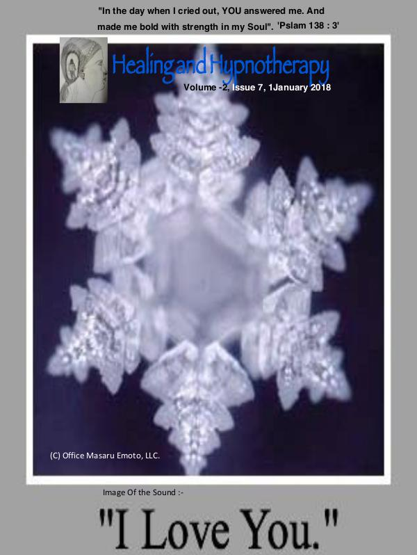 Healing and Hypnotherapy Volume 2, Issue 7, (January 1, 2018)