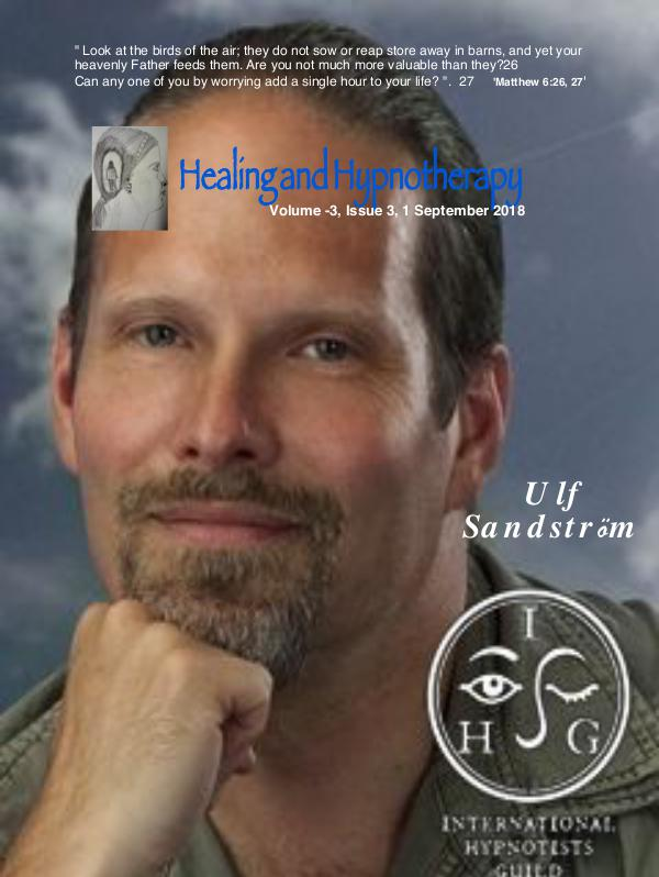 Healing and Hypnotherapy Volume 3 , Issue - 3, September 2018