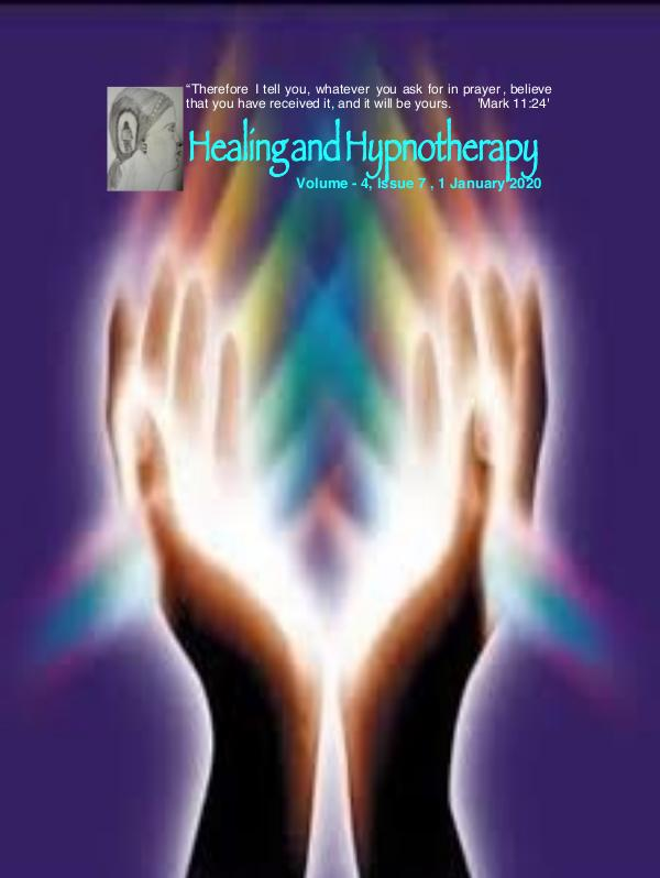 Healing and Hypnotherapy Volume 4 Issue 7, 1 January 2020