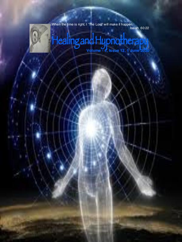 Healing and Hypnotherapy Volume - 4, issue 12, 1 June 2020