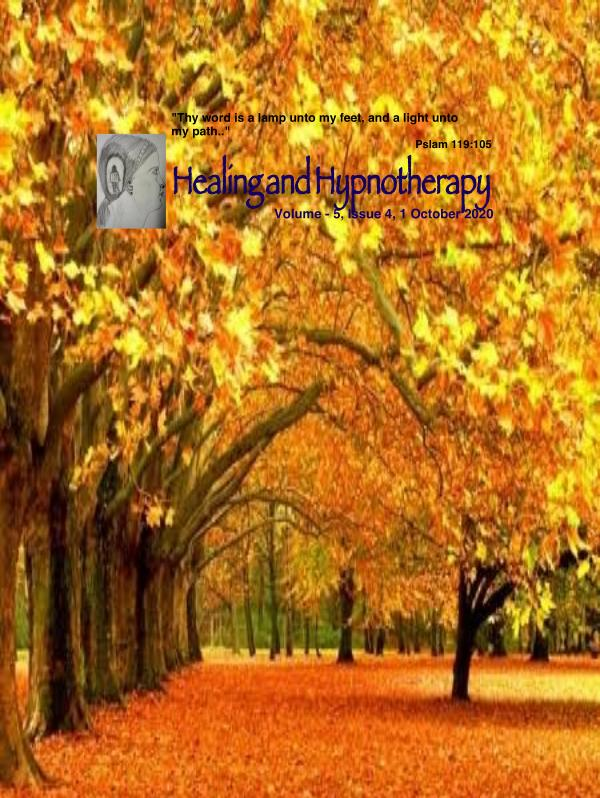 Healing and Hypnotherapy Volume 5, Issue -4, 1 October 2020