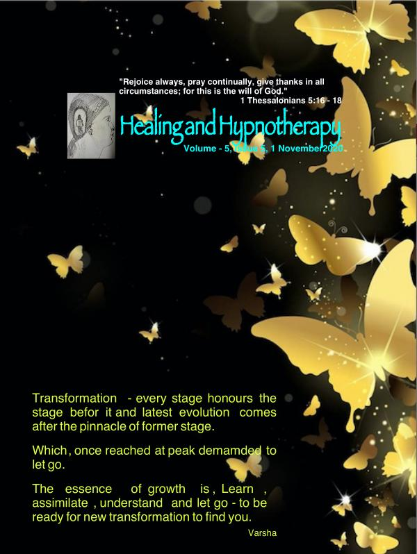 Healing and Hypnotherapy Volume 5, Issue -5, 1 November 2020
