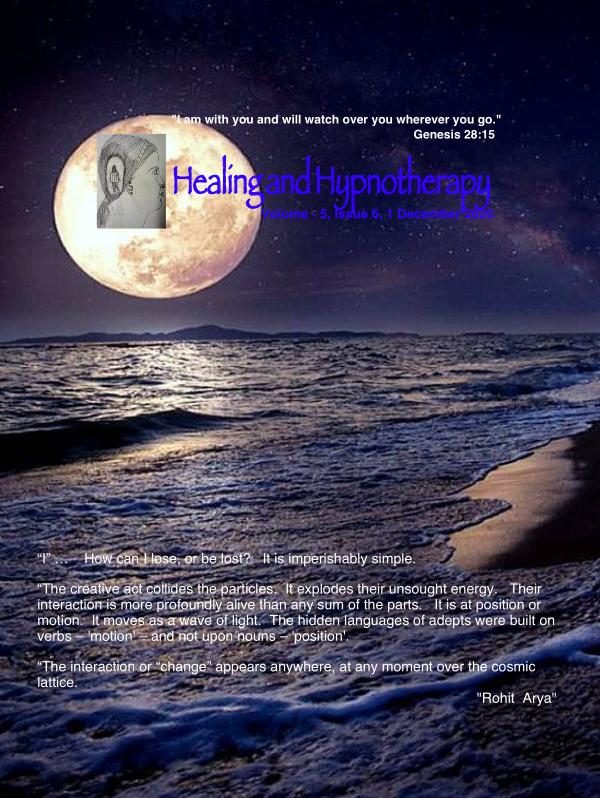 Healing and Hypnotherapy Volume 5, Issue -6, 1 December 2020