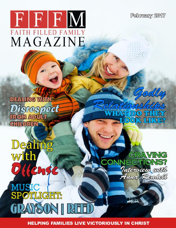 Faith Filled Family Magazine February 2017