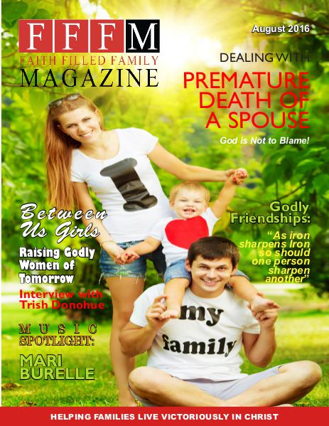 Faith Filled Family Magazine August 2016