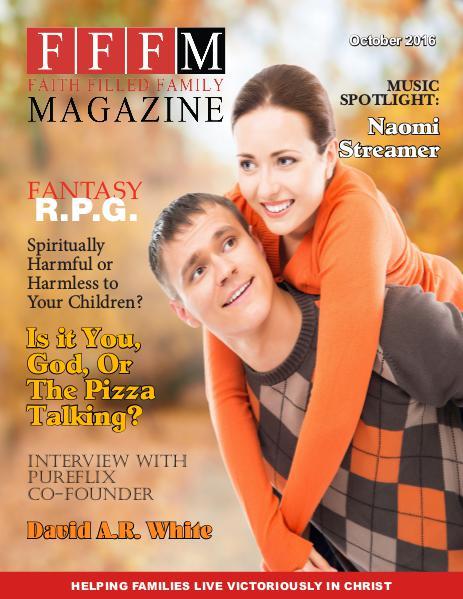 Faith Filled Family Magazine October 2016