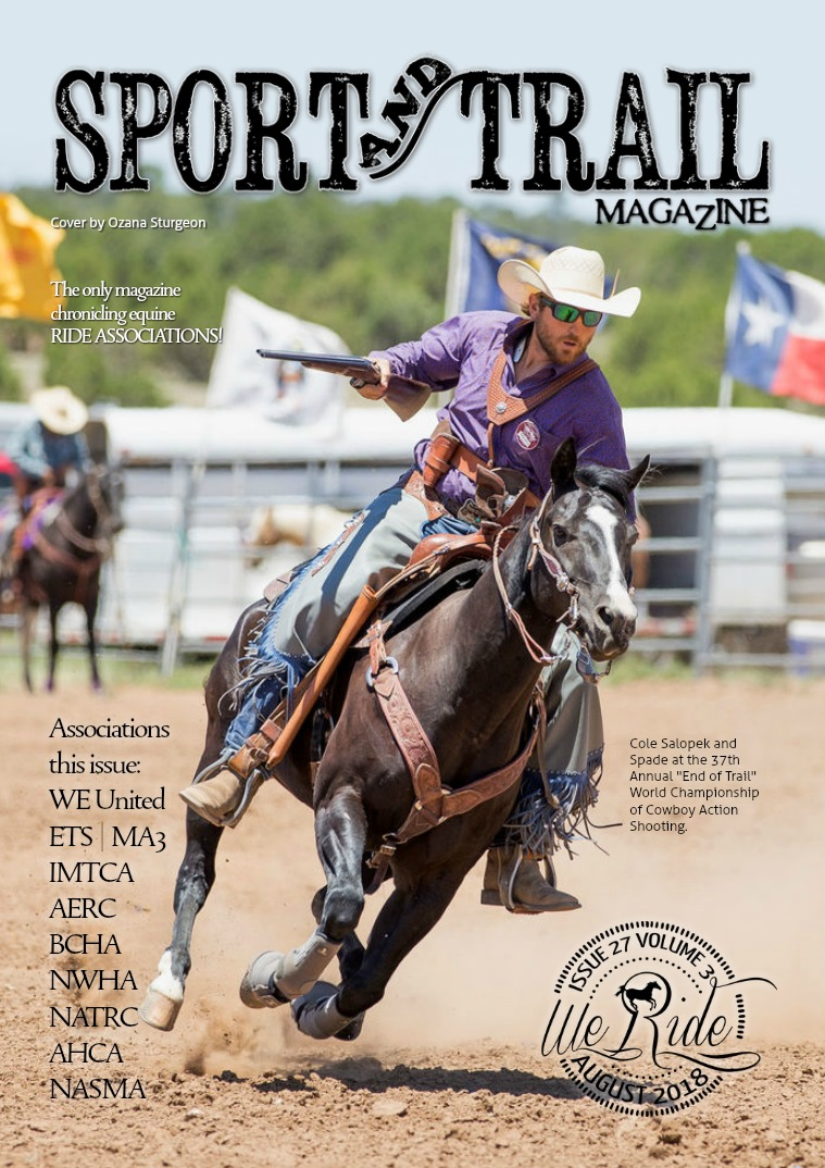 We Ride Sport and Trail Magazine August 2018
