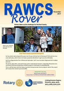 RAWCS Rover Nov 2017
