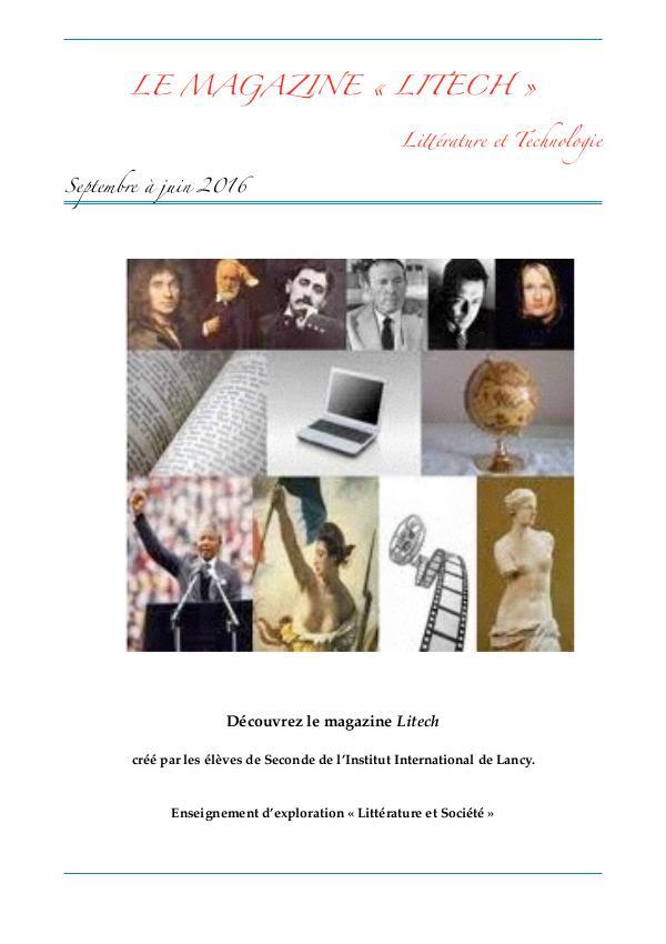 """Le Magazine """"Litech"""""""