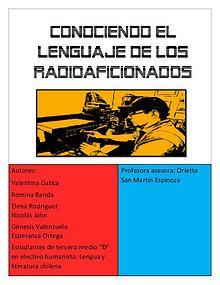 Conociendo el lenguaje de los radioaficionados