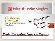 Nishkul Technology Customer Reviews