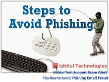 Tips How to Avoid Phishing Email Fraud - Nishkul Tech Support Scam Al