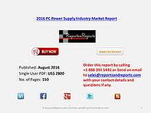 PC Power Supply Market 2016 Global and Chinese Industry Scenario 2021