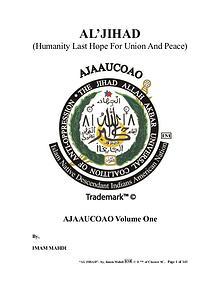 AL'JIHAD : Humanity Last Hope For Union And Peace