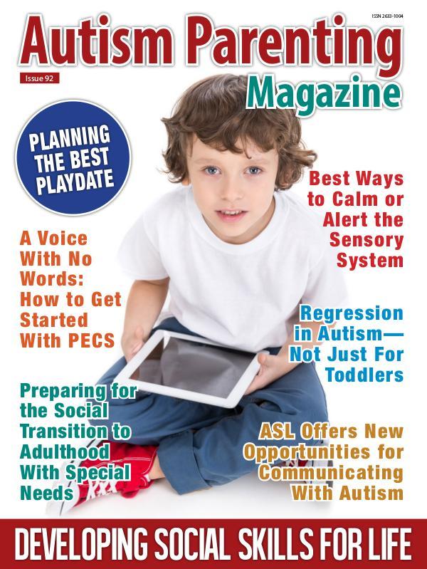 Autism Parenting Magazine Issue 92