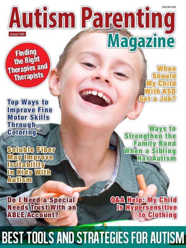 Autism Parenting Magazine Issue 100