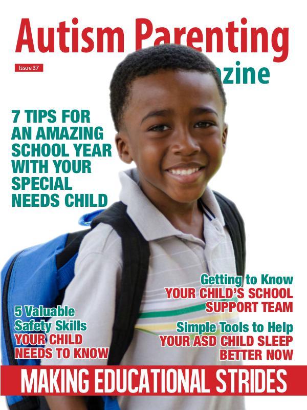 Autism Parenting Magazine Issue 37