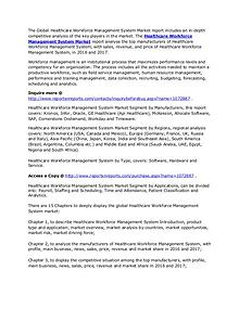 Healthcare Workforce Management System Market Revenue by 2022