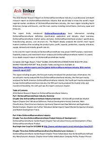 Dichlorodifluoromethane Market Analysis and Industry Forecasts 2020