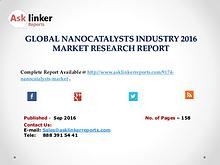 Nanocatalysts Market Investment Feasibility, Analysis & Forecast 2020