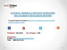 Global Medical Oxygen Market 2016-2020 Report